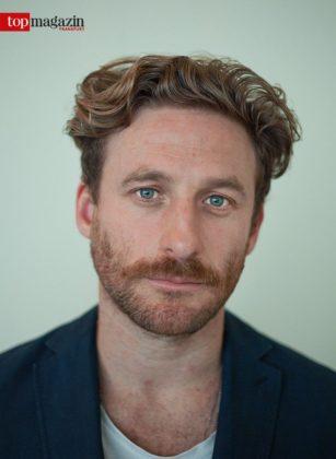 Filmstar und Fotograf Dean O'Gorman