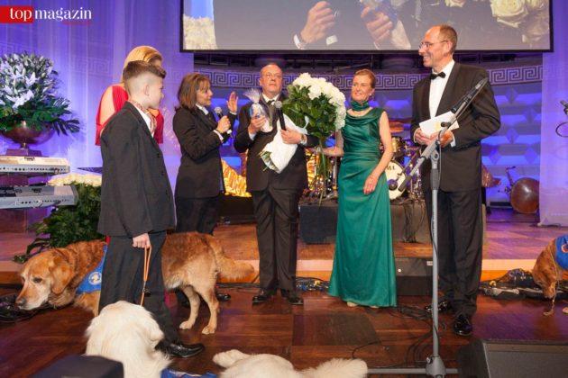 Gro�e Ehre für Erhard Priewe � ohne ihn gäbe es keine Vita Charity