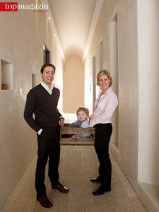 Hans-Oliver Spanier mit Louis und Carolin Spanier-Gillot