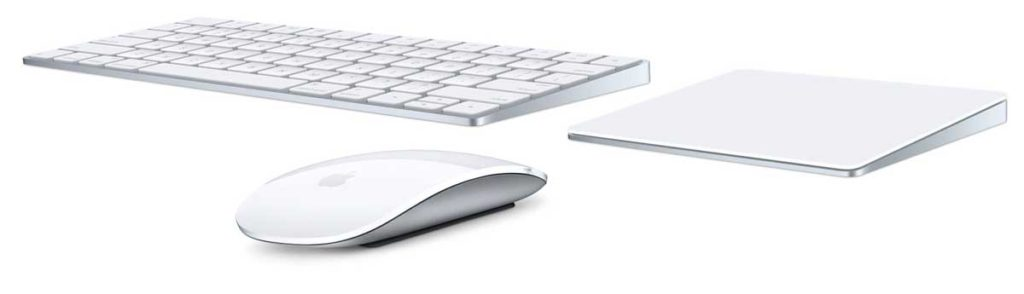 Magic Keyboard, Magic Mouse 2 und Magic Trackpad