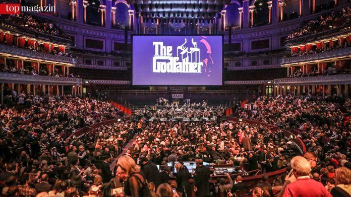 Premiere von Der Pate Live in der Royal Albert Hall, London (Foto Christie Goodwin)