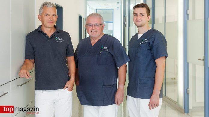 Starkes Team - Dr. Arne König, Prof. Dr. mult. Christian Foitzik und Dr. Jan Foitzik