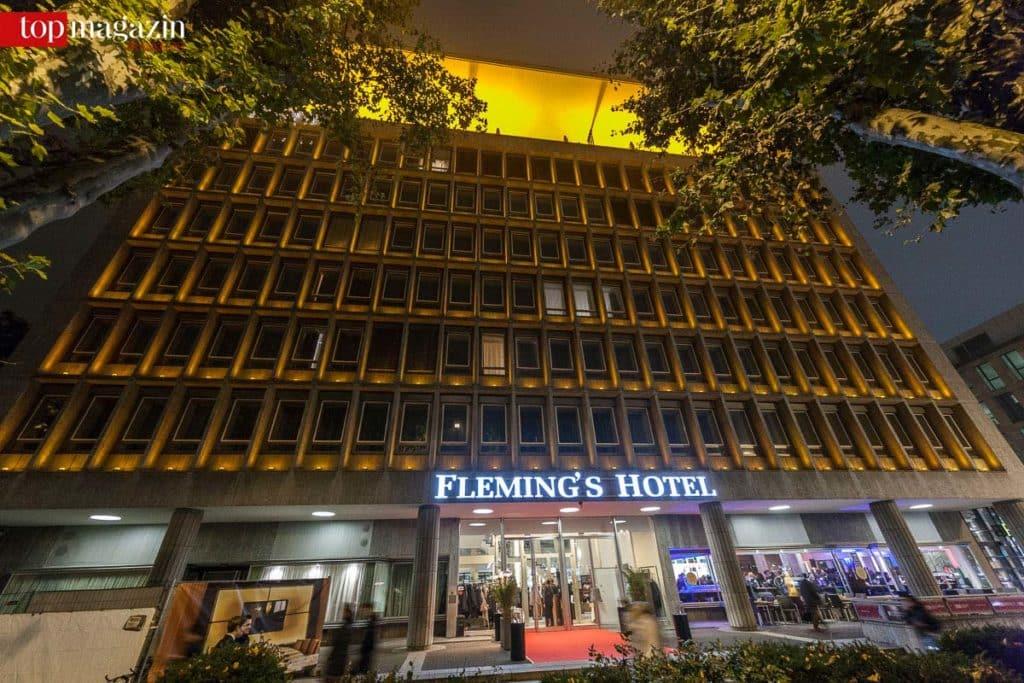 Das Fleming's Deluxe in der Frankfurter Innenstadt hatte für die Top Lounge den Roten Teppich ausgerollt.