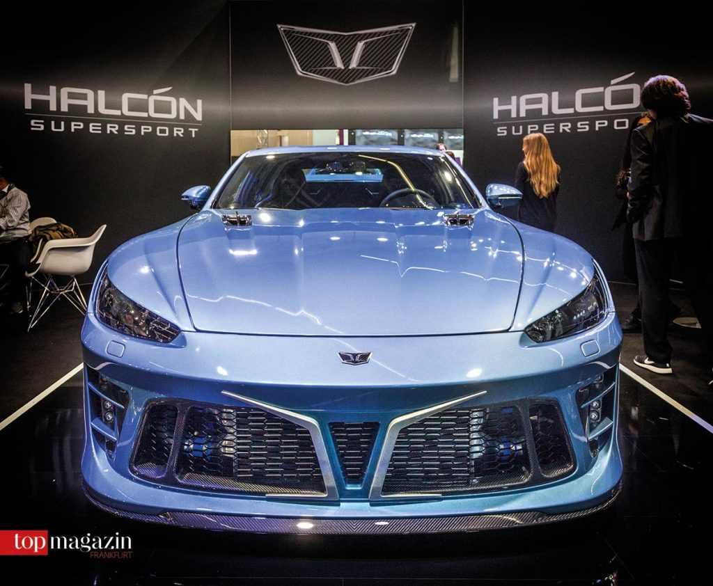 Der Falcarto der neuen Frankfurter Sportwagenschmiede Halcón Supersport
