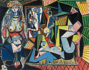 Picassos Bild 'Les femmes d'Alger' wurde für einen Rekordpreis von 179,4 Millionen Dollar versteigert.