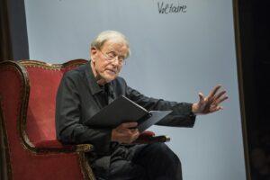 Claus Peymann liest Holzfällen. Eine Erregung