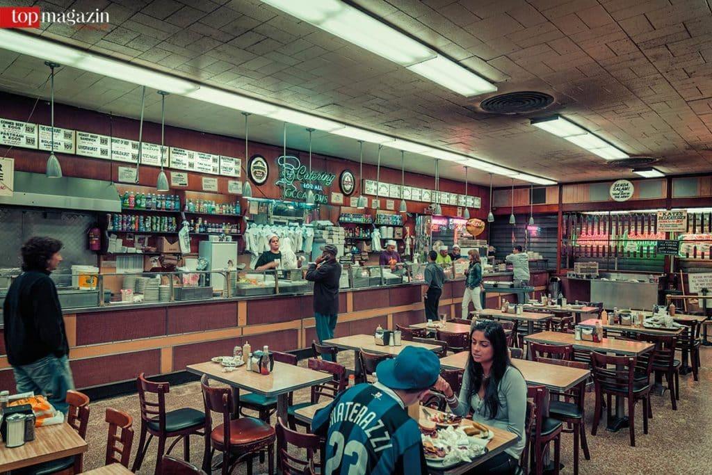 Das legendäre Katz's Delicatessen in der Lower East Side