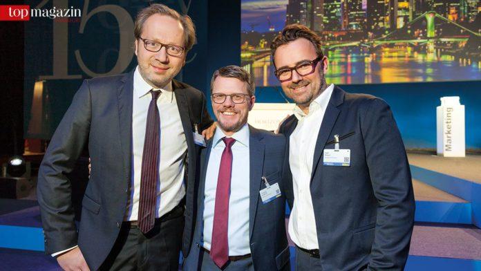 Reinhard Patzschke, Thomas Eickhoff und Ralf Heuel von Grabarz & Partner