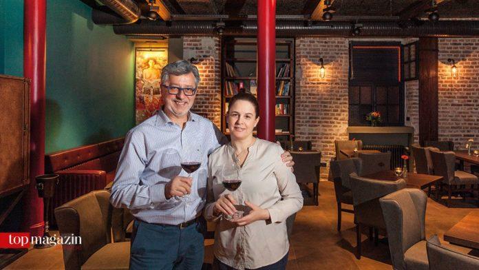 Sakis Miliadis mit Ehefrau Dimitra Petsa