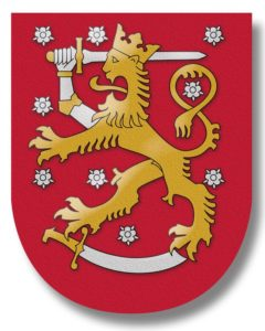 Das Wappen Finnlands