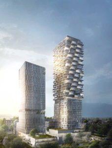 Das neue Hochhausquartier auf dem Frankfurter Kulturcampus