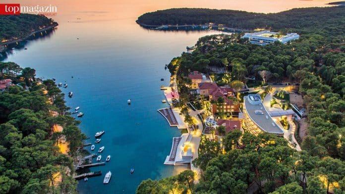 Die Losinj Hotels & Villas in der Cikat Bucht
