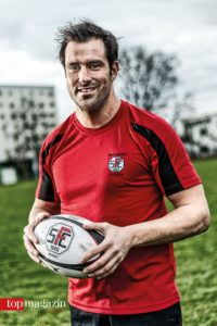 Rugby-Nationalspieler Mark Sztyndera