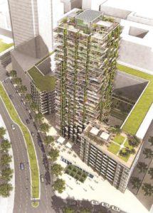 Tower 90 erhält hängende Gärten
