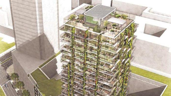 Tower 90 erhält hängende Gärten-A