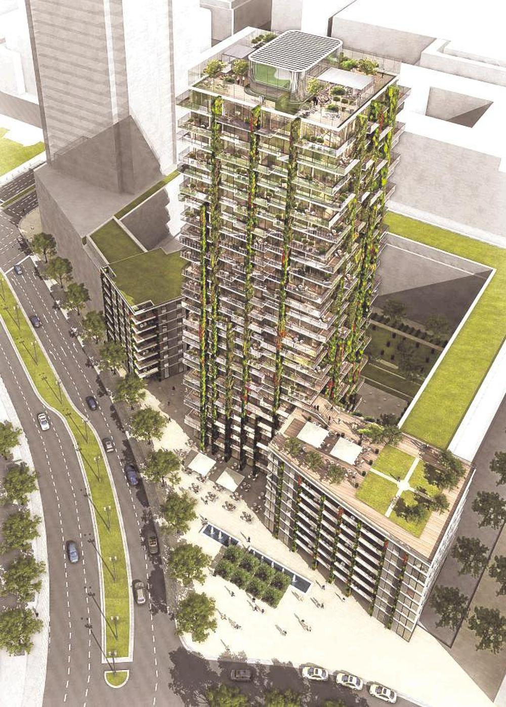 h ngende g rten f r tower 90 in frankfurt top magazin. Black Bedroom Furniture Sets. Home Design Ideas