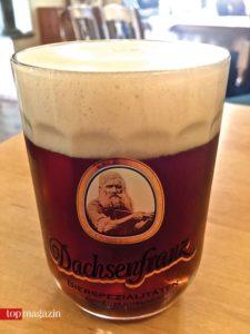 Bier im Dachsenfranz