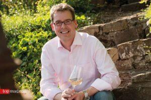 Claus Burmeister vom Weingut Heitlinger