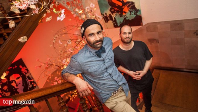 Die Villa Ratatouille-Erfinder Peyman Far und Maximilian Reggiannini