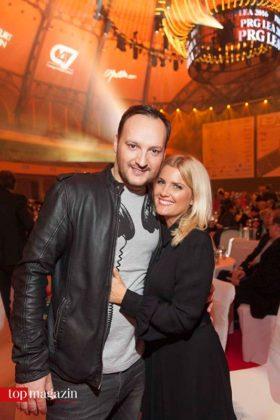 Jenny Knäble mit Felix Moese