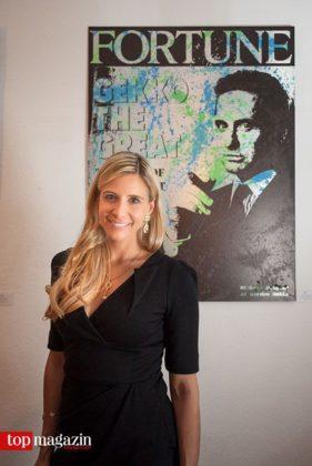 Künstlerin Diana Catherine Eger sorgt für die ästhetischen Genüsse in der Villa Ratatouille