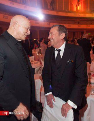 LEA-Präsident Dieter Weidenfeld mit Roland Kaiser