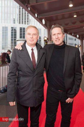 Paul Humphreys und Andy McCluskey von der britische New Wave Größe OMD