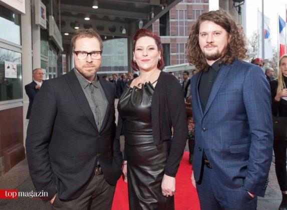 Sängerin AnNa R. mit ihren Gleis 8-Kollegen Manne Uhlig und Timo Dorsch