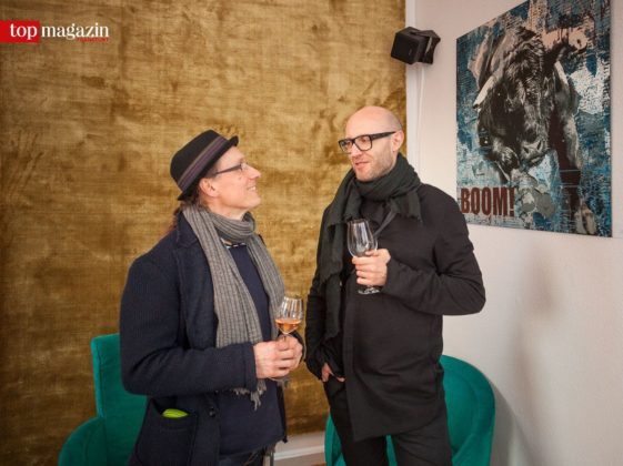 Uwe Kaltwasser mit Waoh-Agenturchef Daniel Tobias Etzel