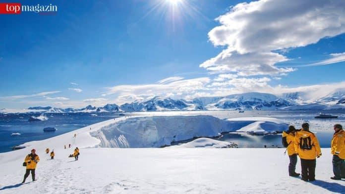 Eindrucksvolle Landschaft bei der Durchquerung der Nordostpassage mit dem Eisbrecher Kapitän Khlebnikov