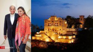 Ashok und Neelam Khanna, die Gründer des berühmten Ananda Hotel & Spa