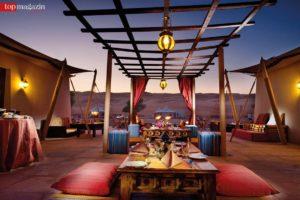 Das Desert Nights Camp in der Wahiba-Wüste