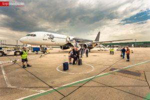 Take-off to party - Ausgewählte Gäste des World Club Dome bringt eine Boeing nach Frankfurt.