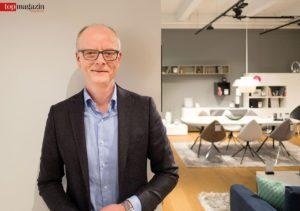 Jens Fay ist Inhaber der Frankfurter BoConcept-Niederlassung.