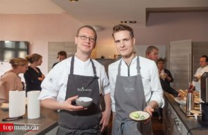 Küchenbrüder - André Rickert (Weinsinn) mit Jochim Busch aus dem Weinsinn-Bruder Restaurant Gustav