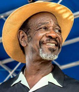 Bluesmusiker Frank Bey