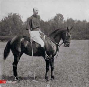 Prinz Serge Belosselsky im Jahre 1902