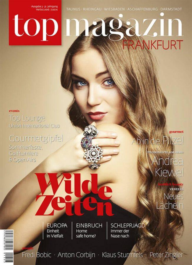 Top Magazin Frankfurt, Ausgabe Herbst 2016