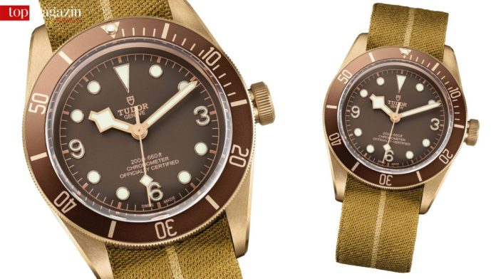 Heritage Black Bay Bronze by Tudor