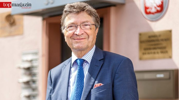 Polens Honorarkonsul Klaus Sturmfels