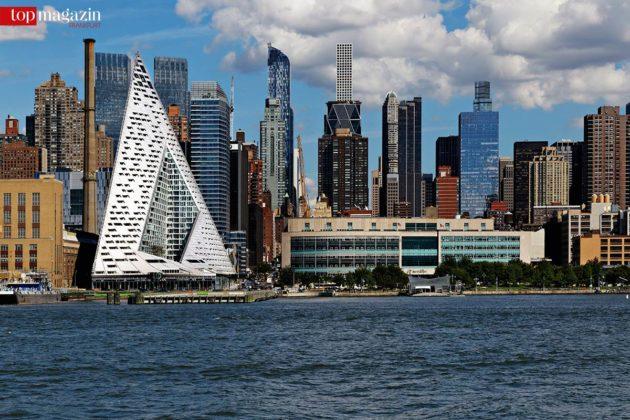 Das VIA 57 West liegt direkt am Hudson River. (Kirsten Bucher)