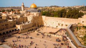 Klagemauer in der Altstadt von Jerusalem