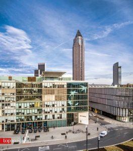 BNP Paribas an der Europa-Allee in Frankfurt