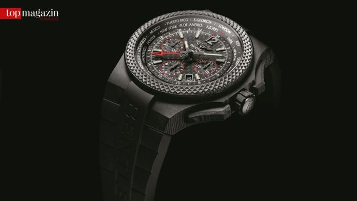 Breitling for Bentley - GMT B04 S Carbon Body