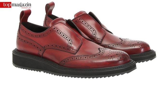 Canali Brogue Slippers