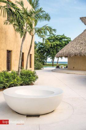 Das weitläufige Areal der Villa erstreckt sich auf über 1.000 Quadratmeter.