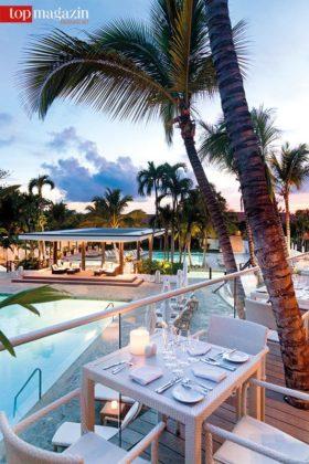 Dinieren unter Palmen - La Caña Bar & Lounge in Casa de Campo