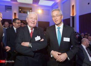 Ex-Deutsche-Bank-Chef Hilmar Kopper und Fraport-Vorstandsvorsitzender Dr. Stefan Schulte