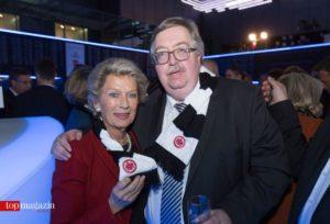 Oberbürgermeisterin a.D. Petra Roth mit IHK-Hauptgeschäftsführer Matthias Gräßle