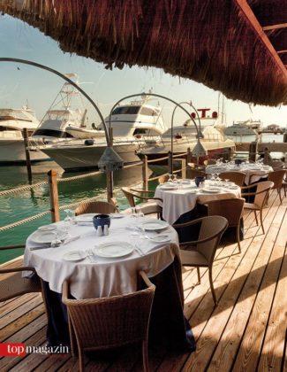 Yacht an Yacht - Das Restaurant La Casita lädt zum Dinner an der Marina von Casa de Campo